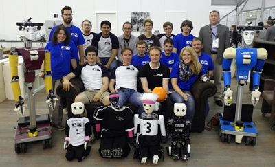 Team NimbRo at RoboCup 2013 in Eindhoven