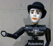 Robotinho with expressive communication head