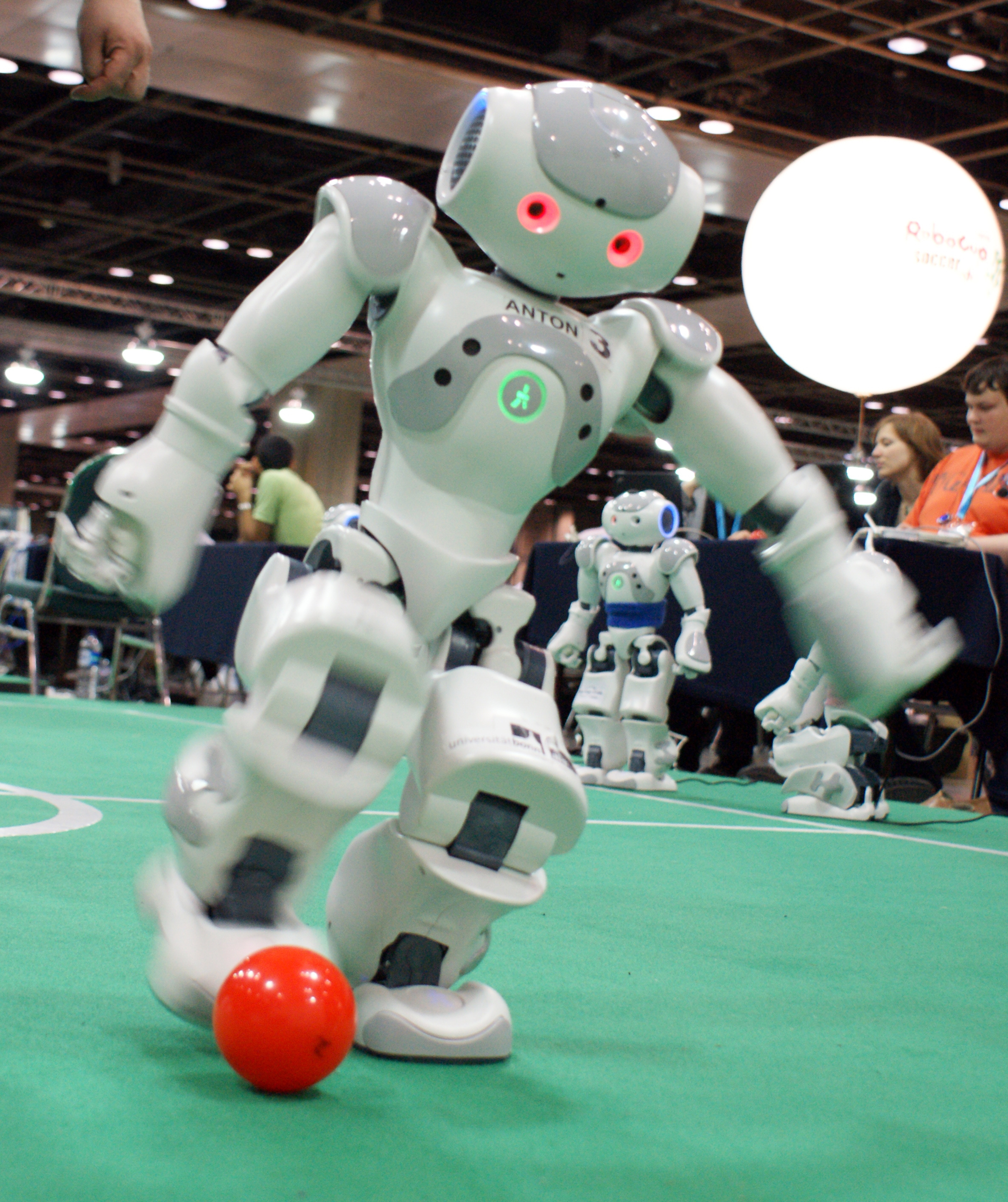 artificial intelligence robots essay The field of artificial intelligence is probably a long not doing enough to prepare for the rise of artificial general intelligence robots could hack.