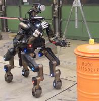 Centauro robot at Kerntechnische Hilfsdienst GmbH