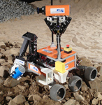Explorer robot for DLR SpaceBot Cup